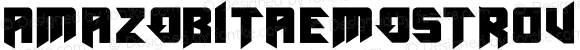 AmazObitaemOstrovBold Regular Version 1.00 November 15, 2009, initial release