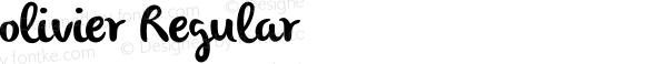 olivier Regular Unknown