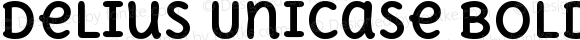 Delius Unicase Bold
