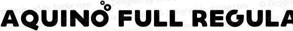 Aquino Full Regular Version 1.000;PS 001.000;hotconv 1.0.88;makeotf.lib2.5.64775