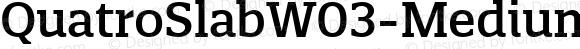 Quatro Slab W03 Medium