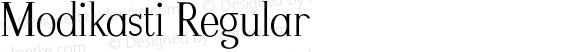 Modikasti-Regular