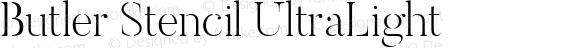 Butler Stencil UltraLight