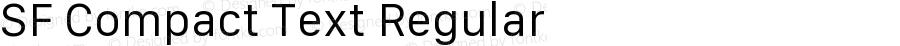SF Compact Text Regular