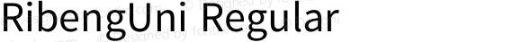 RibengUni Regular