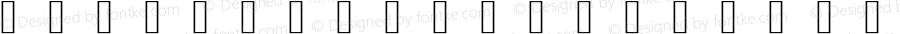 tc-icon-font icon-font Version 001.000