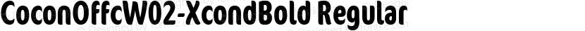 CoconOffcW02-XcondBold Regular Preview Image