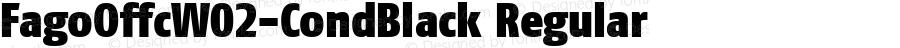 FagoOffcW02-CondBlack Regular Version 7.504