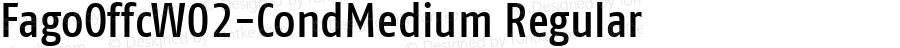 FagoOffcW02-CondMedium Regular Version 7.504