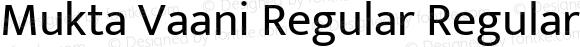 Mukta Vaani Regular Regular