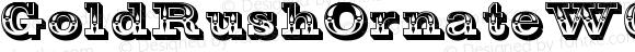 GoldRushOrnateW01-Regular Regular Version 1.00