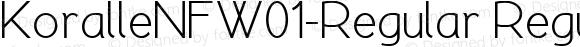 KoralleNFW01-Regular Regular Version 1.10