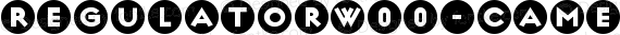 RegulatorW00-Cameo Regular preview image