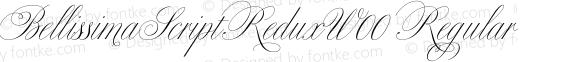 BellissimaScriptReduxW00 Regular preview image