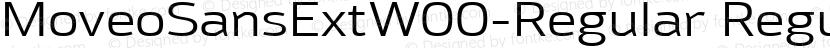 MoveoSansExtW00-Regular Regular Preview Image