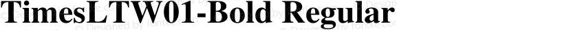 TimesLTW01-Bold Regular Preview Image