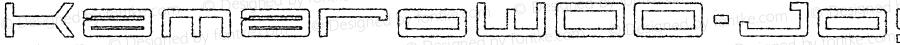 KamaroW00-JoySlip Regular Version 1.00