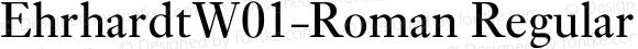 EhrhardtW01-Roman Regular Version 1.02