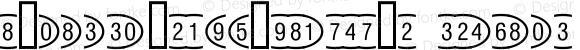 OvalFrameW95-Positive Regular Version 1.00