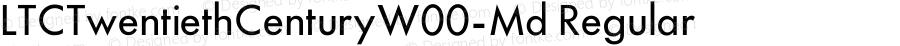 LTCTwentiethCenturyW00-Md Regular Version 1.1