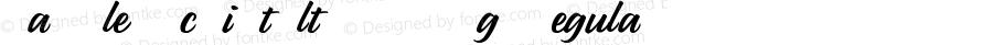 ParsleyScriptAltsW90-Rg Regular Version 1.00
