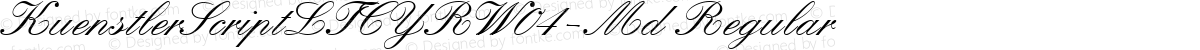 KuenstlerScriptLTCYRW04-Md Regular