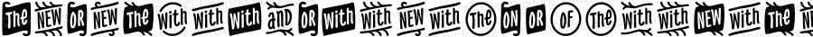 NexaRustExtrasW95-Words Regular Version 1.00