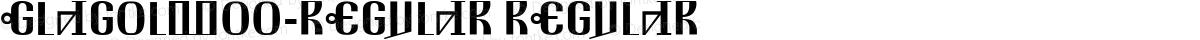 GlagolW00-Regular Regular
