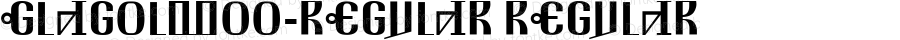 GlagolW00-Regular Regular Version 3.00