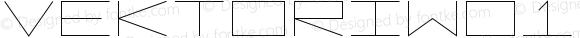 VektoriW01-Wide Regular Version 1.1