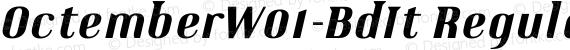 OctemberW01-BdIt Regular preview image