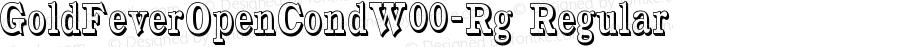 GoldFeverOpenCondW00-Rg Regular Version 1.10