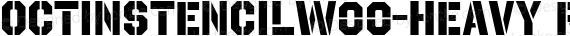 OctinStencilW00-Heavy Regular preview image