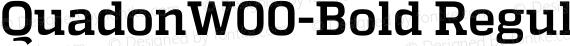 QuadonW00-Bold Regular preview image