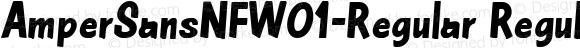AmperSansNFW01-Regular Regular Version 1.20