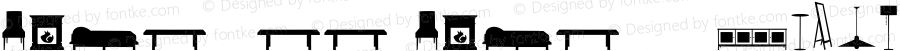 HomeSweetHomeW95-Dingbats Regular Version 1.00