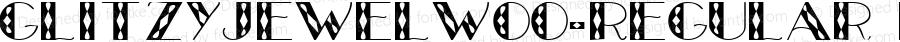 GlitzyJewelW00-Regular Regular Version 1.60