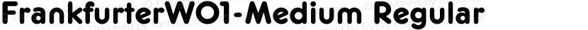 FrankfurterW01-Medium Regular Preview Image