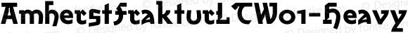 AmherstFrakturLTW01-Heavy Regular Version 2.02