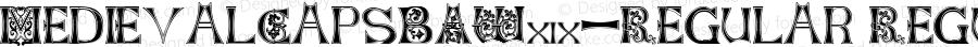 MedievalCapsBAW90-Regular Regular Version 0.00