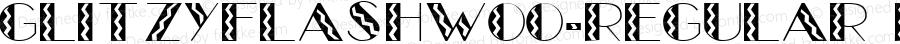 GlitzyFlashW00-Regular Regular Version 1.60