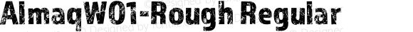 AlmaqW01-Rough Regular Version 1.00