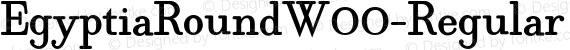 EgyptiaRoundW00-Regular Regular preview image