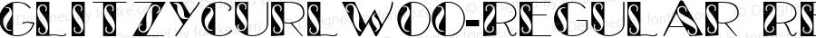 GlitzyCurlW00-Regular Regular Version 1.60