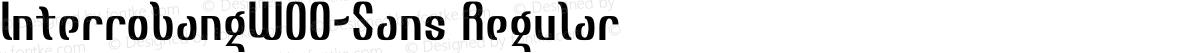 InterrobangW00-Sans Regular