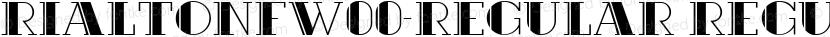 RialtoNFW00-Regular Regular Preview Image
