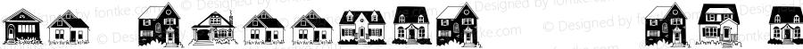 HouseDoodlesW95-0 Regular Version 1.00