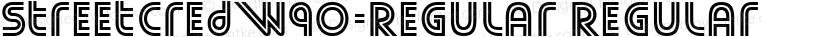 StreetCredW90-Regular Regular Preview Image