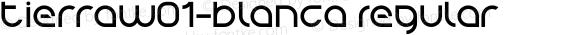 TierraW01-Blanca Regular Version 1.1