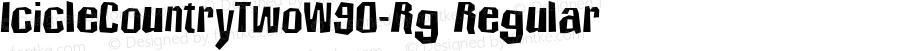 IcicleCountryTwoW90-Rg Regular Version 4.00